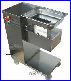 110V Commercial Meat Cutting Machine Body NO Blade Kitchen Resturant Cutter QE