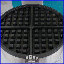 2 X Electric Waffle Maker Commercial Double Waring Kitchen Heavy Steel Machine