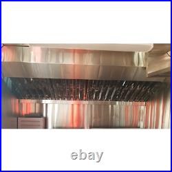 20 x 20 x 1 1/2 Stainless Steel Commercial Kitchen Exhaust Hood Grease Filter