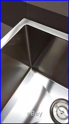2018 Commercial grade sus304 stainless steel kitchen, bar, laundy sink 2219R-9