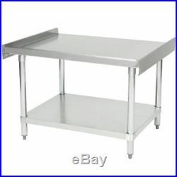 24 x 36 Heavy Equipment Stand NSF Kitchen Stainless Steel Work Table Commercial