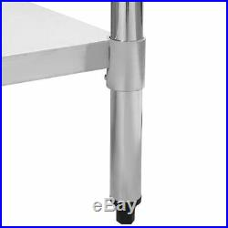 24 x 48 Stainless Steel Work Prep Table Commercial Kitchen Restaurant 24x48 +