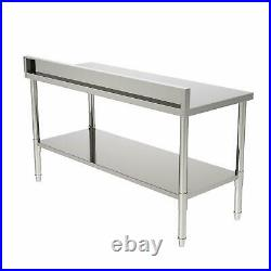 24x60 x 36 Commercial Stainless Steel Heavy Duty Food Prep Work Table Kitchen