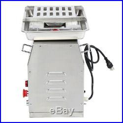 250Kg/H Stainless Steel Meat Cutting Machine 550W 3mm Blade Commercial Kitchen