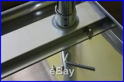 30 X 96 Stainless Steel Kitchen Work Table Commercial Restaurant Food Prep