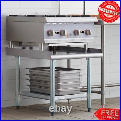 30 x 24 Stainless Steel Table Commercial Kitchen Heavy Equipment Stand Storage