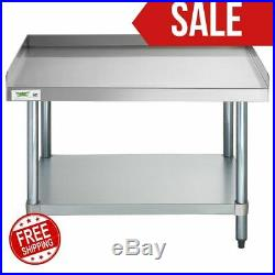 30 x 36 Stainless Steel Commercial Restaurant Kitchen Equipment Stand Home Bar