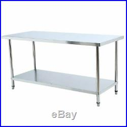 30 x 72 Commercial Stainless Steel Work Table Food Prep Kitchen RE