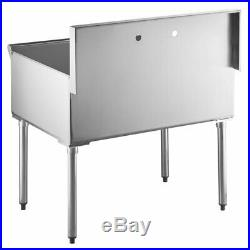 36 X 24 X 14 Commercial Kitchen Utility Sink Stainless Steel Bowl 16 Gauge