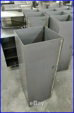 4 FT 10 X 10 Weld 16 Gauge Steel Grease Duct Commercial Kitchen Exhaust System