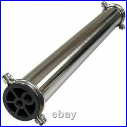 4040 Reverse Osmosis Membrane Housing Spectrum WWH-4040, 304 Stainless Steel
