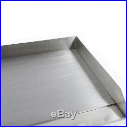 4400W Commercial Electric Griddle Flat Hotplate Home BBQ Grill Stainless Steel