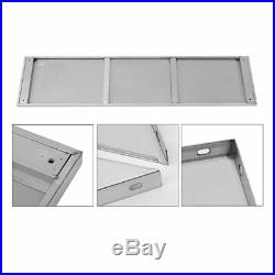 4X 14 x 48 Commercial Stainless Steel Duty Kitchen Shelving Wall Shelfs GD