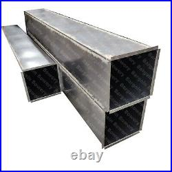 5 FT 12 X 24 Weld 18 Gauge Steel Grease Duct Commercial Kitchen Exhaust System