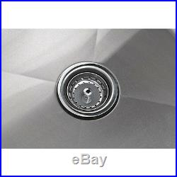 54 Stainless Steel One Compartment Commercial NSF Restaurant Kitchen Sink