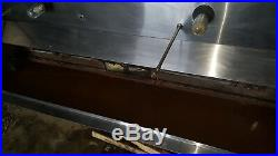 8 1/2 Foot Exhaust Hood Vent Commercial Restaurant Kitchen Stainless Steel Used