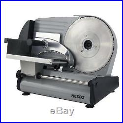 8.7 Blade Electric Meat Food Slicer Steel Cheese Cutter Kitchen Tool Commercial