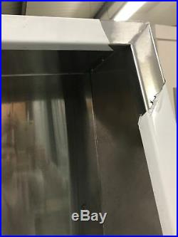 8ft Stainless Steel Commercial Kitchen Canopy 2.4 Meter Wall Exhaust Hood