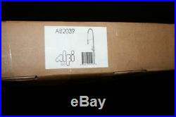 ALFI AB2039 Solid Stainless Steel Pull Out Commercial Kitchen Faucet Spring Coil