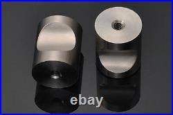 Brushed Stainless Steel Kitchen Cabinet Knobs Drawer Handles Cupboard Knobs