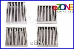 Canopy Baffle Grease Filters Stainless Steel Commercial Kitchen Extraction
