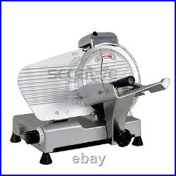 Commercial 10 Blade Meat Slicer Deli Cheese Food 530rpm Electric Cutter Kitchen