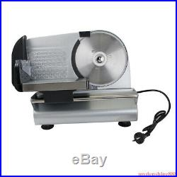 Commercial 7.5 Blade Electric Meat Slicer Cheese Deli Food Cutter Kitchen Home