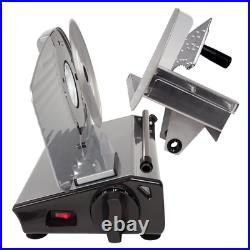 Commercial Blade Electric Meat Slicer Deli Cheese Bread Food Cutter Kitchen Home