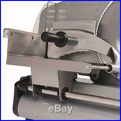 Commercial Blade Electric Meat Slicer Deli Cheese Food Cutter Kitchen Home Steel