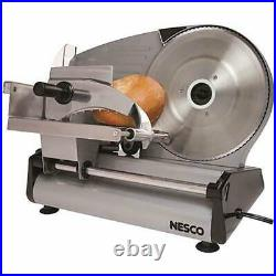 Commercial Blade Electric Meat Slicer Deli Cheese Food Cutter Kitchen Slice Tool