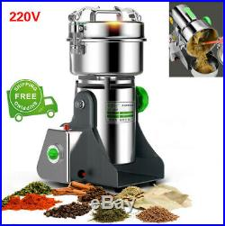 Commercial Electric Kitchen Grain Grinder Coffee Bean Nuts Mill Grinding Machine