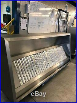 Commercial Kitchen Canopies, Hoods Extraction fans, Stainless Steel Canopy