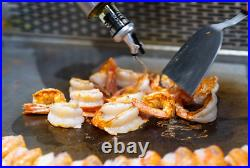 Commercial Kitchen Countertop Flat Griddle Grill 2800PA LP Gas Stainless Steel