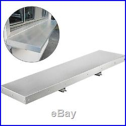 Commercial Kitchen Shelf Wall Shelving 4,6,8 ft Restaurant Concession Window
