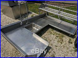 Commercial Kitchen Sink Stainless Steel 103 L
