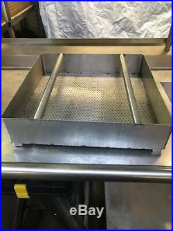 Commercial Kitchen Stainless Steel Sink Counter Table Shelf with Faucet Sprayer