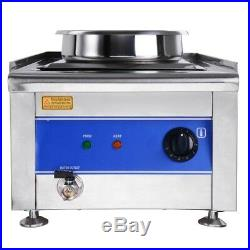 Commercial Kitchen Stainless Steel Soup Chili Food Warmer Restaurants Electric