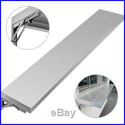 Commercial Kitchen Wall Shelf Restaurant Concession Stand Window Shelving