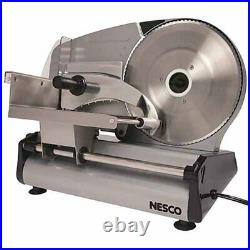 Commercial Meat Slicer Electric Blade Deli Cheese Food Cutter Kitchen Machine