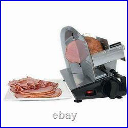 Commercial Meat Slicer Electric Food Cutter Blade Deli Cheese Kitchen Steel 8.7