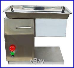 Commercial Meat Slicer with 3mm Blade Table Type Home Kitchen Cutter 110V Machi
