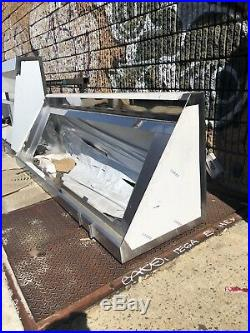 Commercial Stainless Steel Kitchen Food Truck Low End Exhaust Hood 72x 36