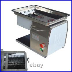 Commercial Stainless Steel Meat Slicer with 3mm Blade Meat Cutter Kitchen Home