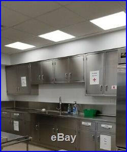 Commercial Stainless Steel kitchen cabinets, see complete list and details