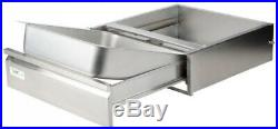 Commercial Under Drawer for Kitchen Prep Table Stainless Steel 20 x 20 x 5 Inch