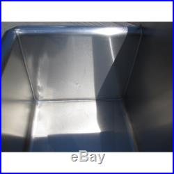 Custom Made Hand Sink Commercial Stainless Steel Kitchen Sink Size 4 Feet