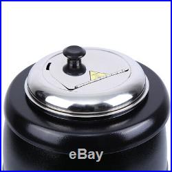 Electric Commercial 10L Kitchen Soup Kettle Warmer Pot Stainless Steel Buffet