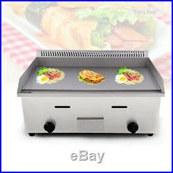 Electric Griddle Flat Hotplate Kitchen Stainless Steel Commercial Grill Machine