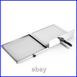 Electric Kitchen Commercial Dining Pizza Baker Oven Stainless Steel Pan Home NEW
