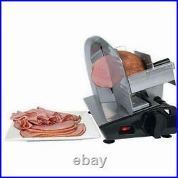 Electric Meat Slicer Commercial Blade Jerky Deli Cheese Food Cutter Kitchen Tool
